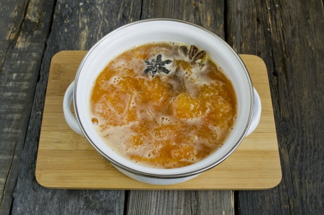 Варим абрикосовый джем 20 минут