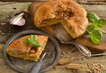 Английский пирог с картошкой и мясом