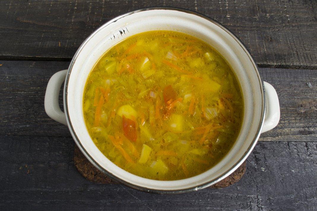 Крем суп куриный рецепт с фото пошагово