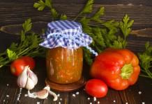 Лютеница – болгарский соус из перца и помидоров