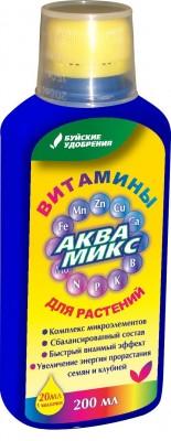Микроудобрение «АКВАМИКС» упаковка 200 мл