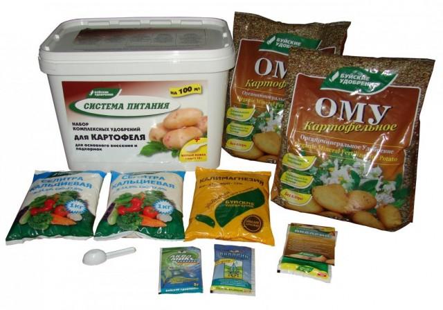 Комплект удобрений «Система питания» для картофеля