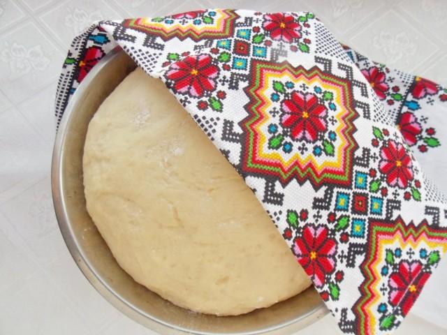 Тесто для цитрусового хлеба