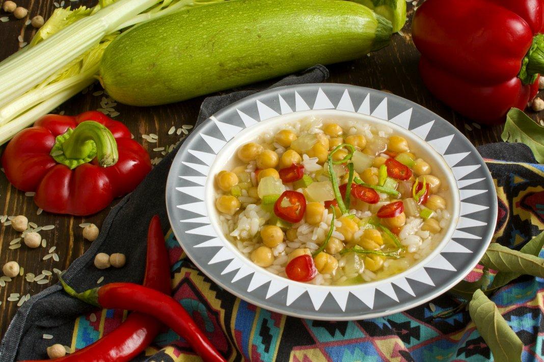 рецепт супа из гороха нут с фото