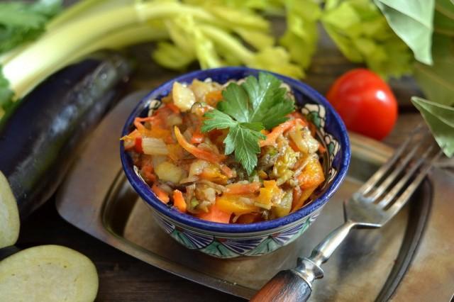 Аджапсандали – грузинское овощное рагу