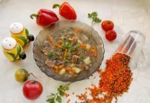 Чечевичный суп