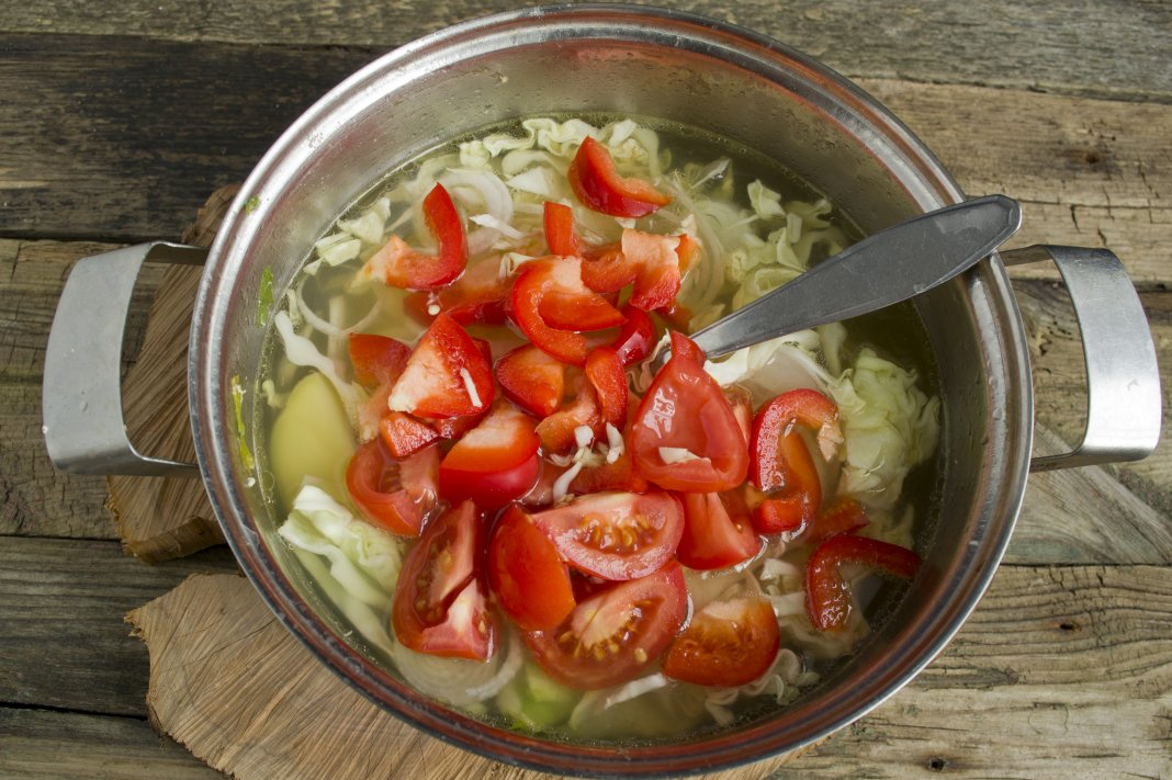 Рыбный суп на курином бульоне рецепт