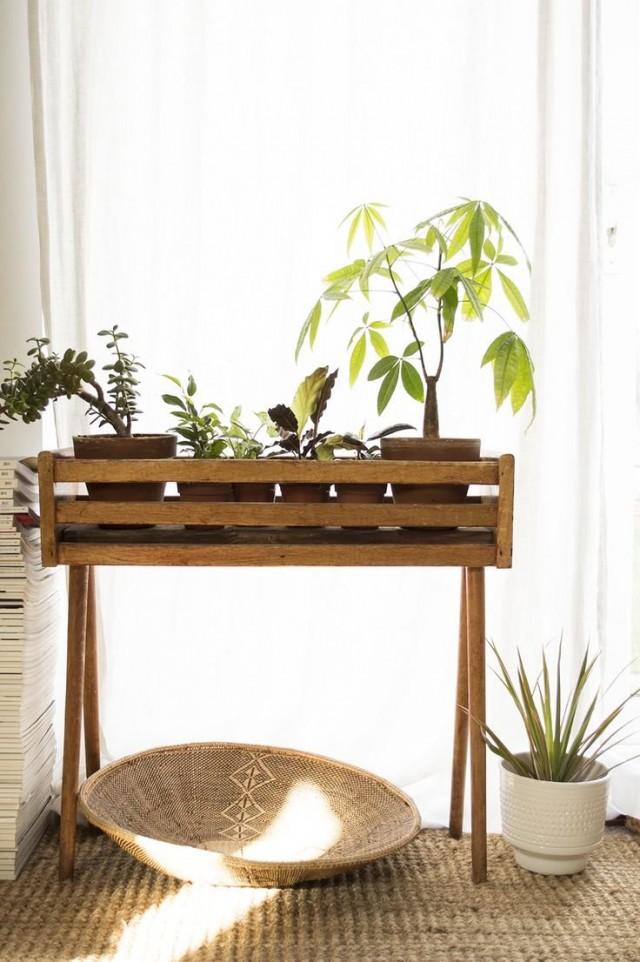 Цветочница-ящик для комнатных растений