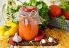Томатный соус «Огонёк» из свежих помидоров
