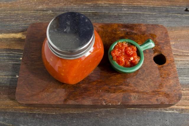 Домашний томатный кетчуп чили
