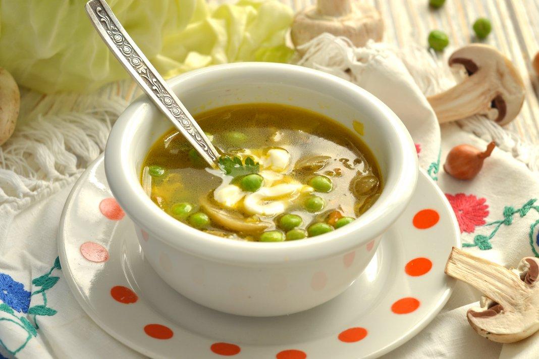 диетическое рецепт с грибами