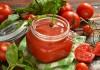 Домашний томатный сок в блендере