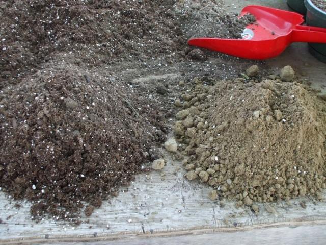 Подготовка разных компонентов для приготовления грунта для рассады