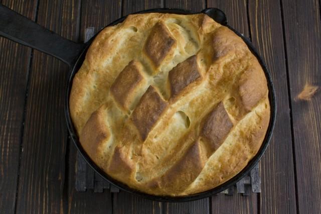 Выпекаем хлеб в духовке при температуре 220 градусов 17 минут