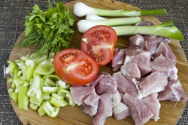 Ингредиенты для начинки лазаньи
