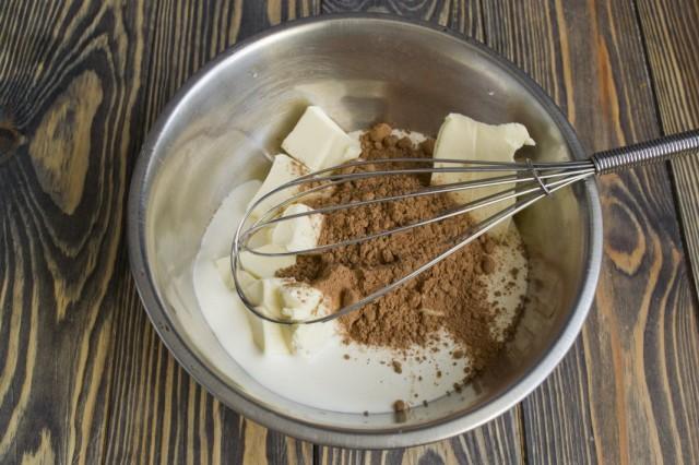 Готовим шоколадную глазурь для торта