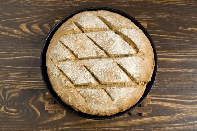 Выпекаем ирландский бездрожжевой хлеб в духовке