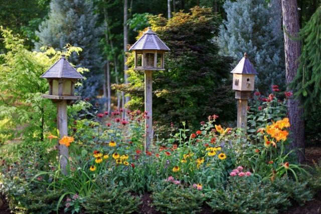 Цветник для птиц