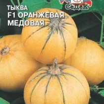 Тыква Оранжевая медовая F1