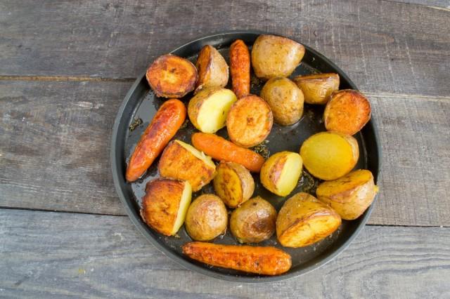 Запекаем картошку до корочки