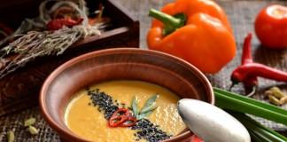 Вегетарианский суп-пюре