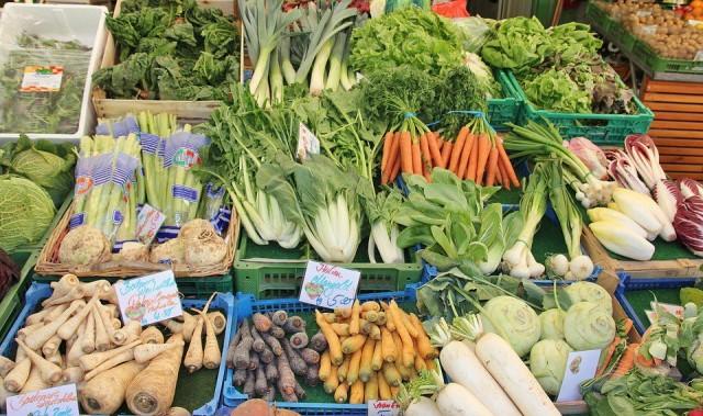 Органические овощи