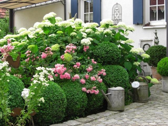 Коттеджный сад - не пейзажный и не кантри