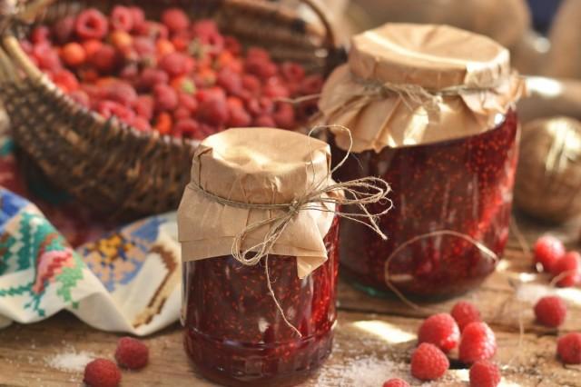 Варенье из малины на зиму за 5 минут