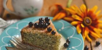 Манник с маком на кефире — простой и вкусный пирог