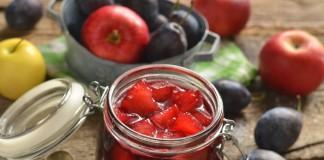 Варенье из сливы с яблоками на зиму