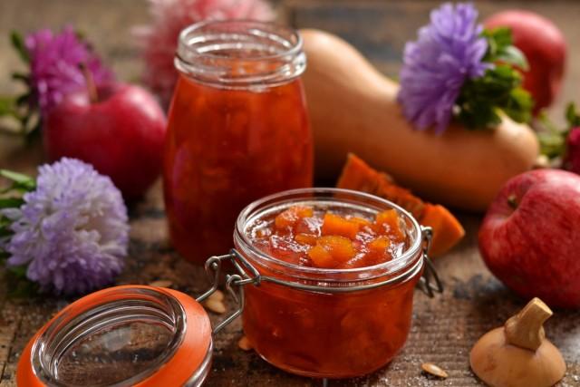 Яблочное варенье с тыквой — сладкий вкус осени