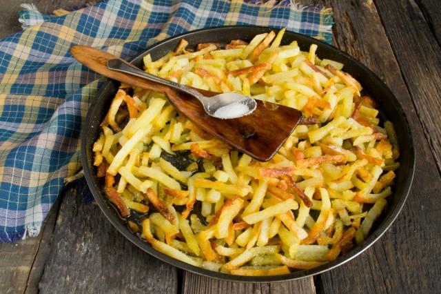 Готовим жареную картошку в духовке 15-20 минут