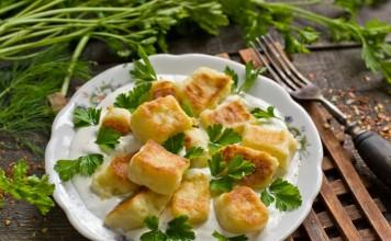 Картофельные клёцки швильпикай — традиционное блюдо литовской кухни