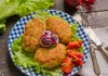 Рубленые куриные котлеты с луком