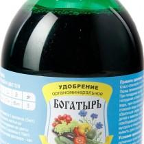 Органоминеральное удобрение «Богатырь» биогумус для овощей и цветов