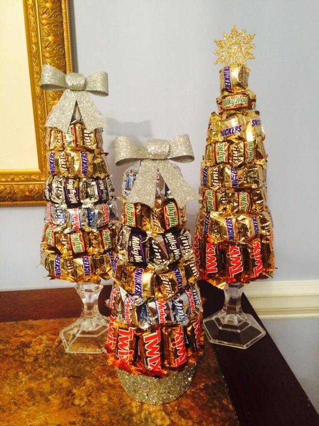 Ёлки из шоколадок