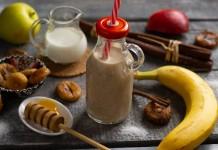 Питательный банановый смузи