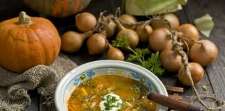 Вкусный вегетарианский суп с тыквой для разгрузочных дней
