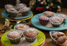 Домашние кексы с сухофруктами — просто и вкусно