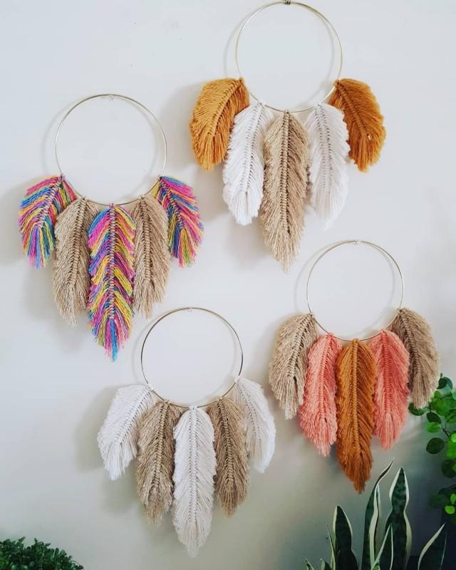 Панно-перья