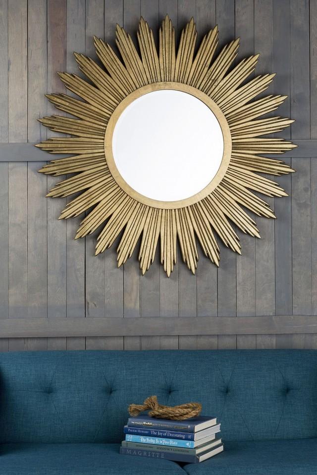 Зеркало в виде солнца