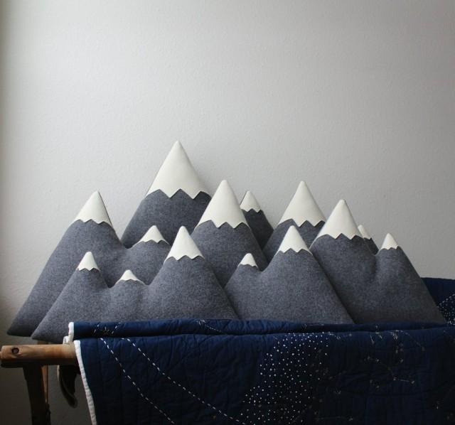 Мечтать о горах легко — с подушками-горами
