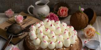 Кокосовый торт «Кухен» — райское наслаждение
