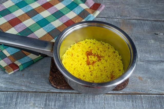 Готовим рис