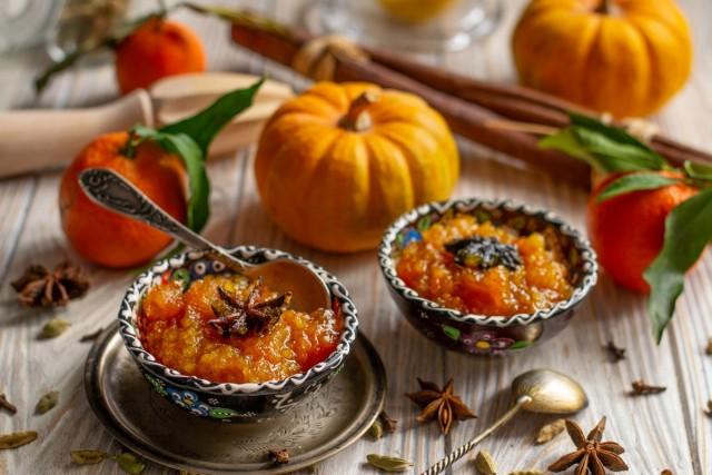 Сладкий индийский соус чатни из тыквы с цитрусовыми