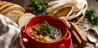 Мексиканский суп с кукурузой и фасолью — просто и доступно