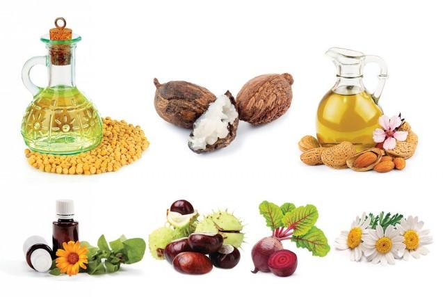 В состав крема «Любава» входят 4 натуральных масла и 4 натуральных экстракта