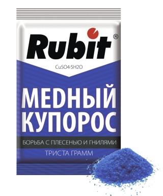 Рубит «Медный купорос»