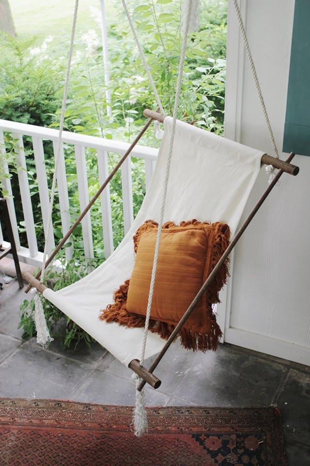 Минималистичное кресло-гамак