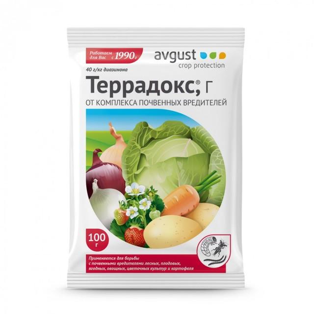 «Террадокс» эффективен против большого количества почвенных вредителей